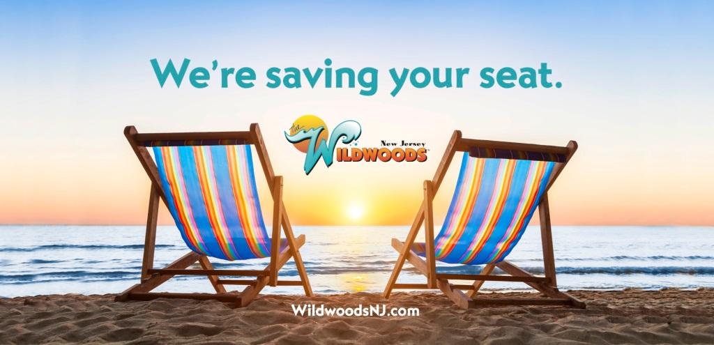 Beach chairs in Wildwoods NJ