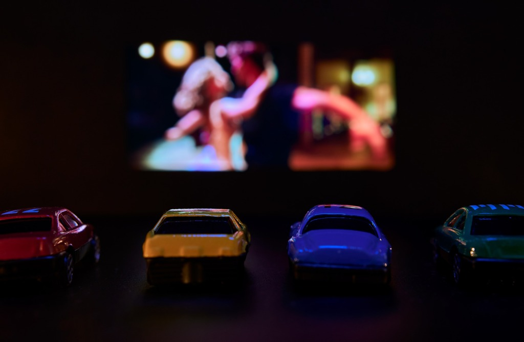 Image of drive-in movie experience